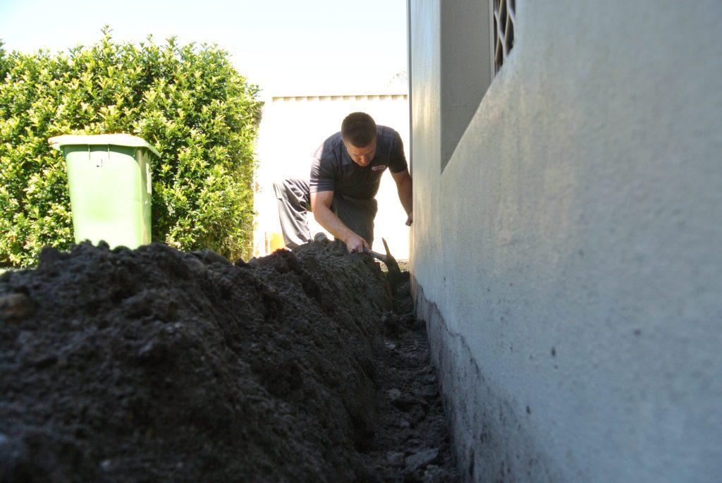 Termite Treatment Barrier