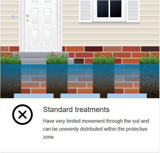 standard termidor termite treatment image