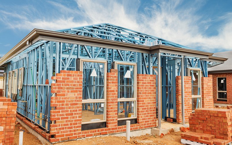 steel frame home termite proof image