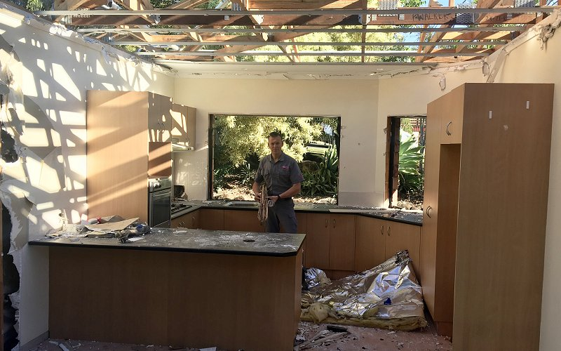 extensive termite damage gold coast home image
