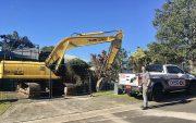 gold coast home demolished termite damage image